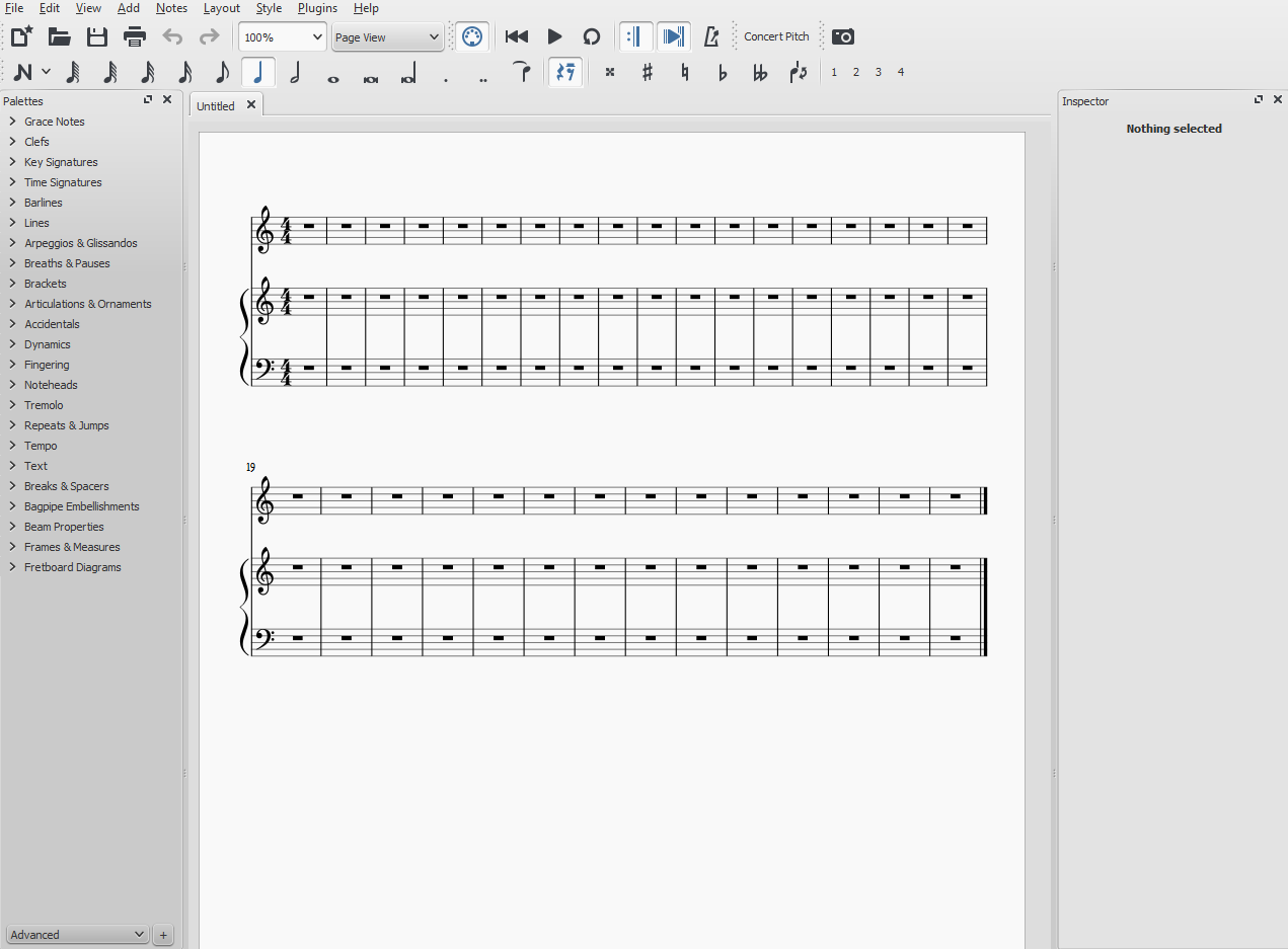 Basic MuseScore Instructions Part 1: Interface – Sheet Music